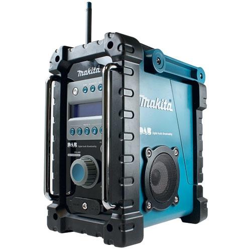 makita dab radio til alle makita batterier 9 6 24volt. Black Bedroom Furniture Sets. Home Design Ideas