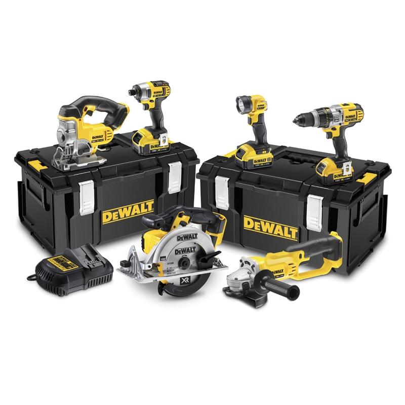 Seneste DeWALT sæt XR DCK694M3 6-pack 3 batterier 4.0Ah QU48