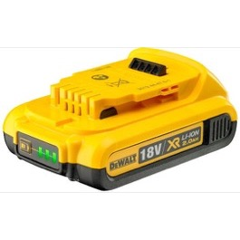 Dewalt 18V Batteri LI-ION 2.0 Ah SLIDE-IN DCB183