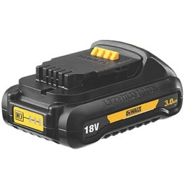 Dewalt 18V Batteri LI-ION 3.0 Ah Low Profile SLIDE-IN DCB187