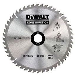 Dewalt  klinge 250mm x 30mm(hul)  48T Construction