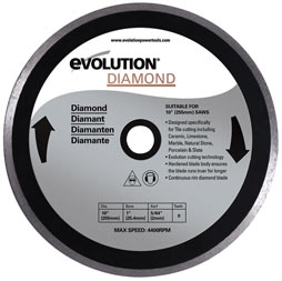 Evolution klinge Diamant til rage 3