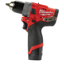 Milwaukee 12V bore/skruemaskine kulløs M12 FDD-402C kit