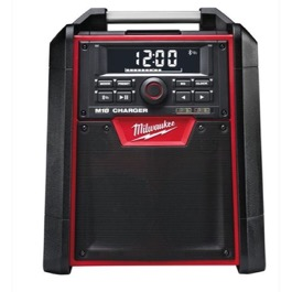 Milwaukee arbejdsradio/lader 18V + 230V M18 RC-0