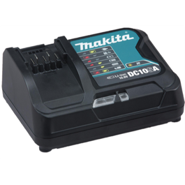 Makita DC10SA lader til 10,8V Slide-in serien