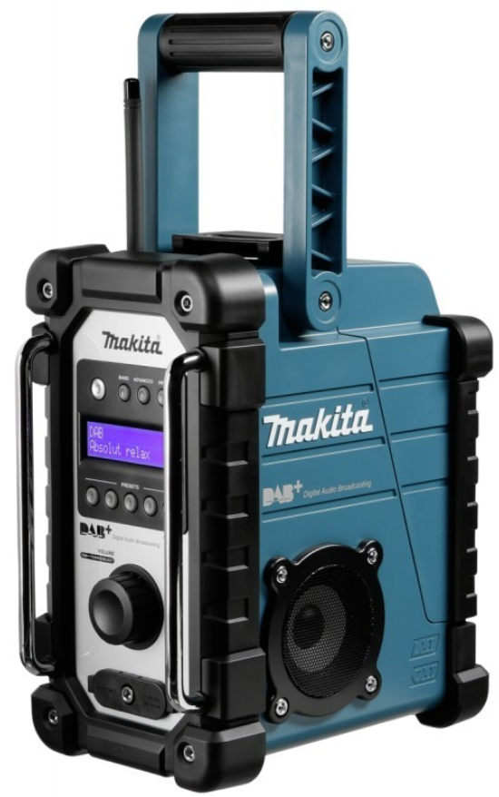 makita dab radio model dmr110 til 7 2 18v. Black Bedroom Furniture Sets. Home Design Ideas