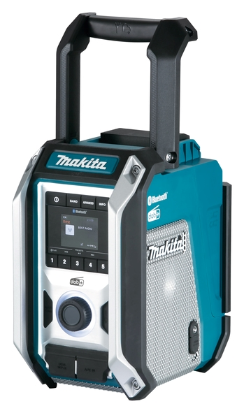 Makita DAB+/Bluetooth Radio Model DMR115  til 12v-18V