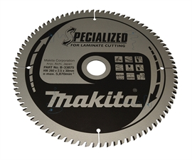 Makita 260 mm 84T klinge Specialized