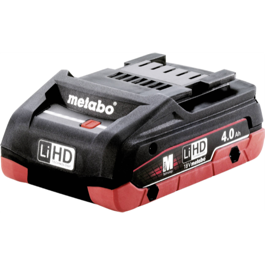Metabo 18V Li-Ion Batteri 4.0 Ah Li-HD (slideIn)