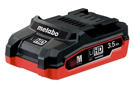 Metabo 18V Li-Ion Batteri 3.5 Ah Li-HD (slideIn)