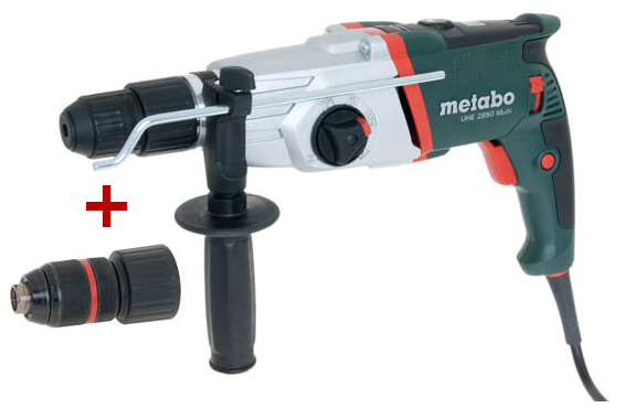 metabo borehammer med sds plus uhe 2850 multi. Black Bedroom Furniture Sets. Home Design Ideas