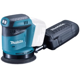 Makita excentersliberm 14,4V  125 mm 190 watt, variabel