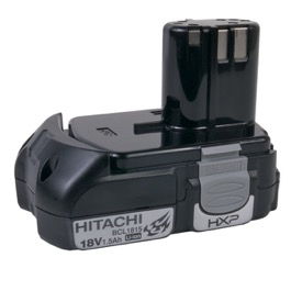 Hitachi 18V 1.5A Li-Ion batteri