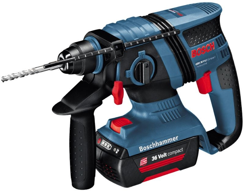 bosch akku borehammer gbh 36v li cp 2 6ah kit. Black Bedroom Furniture Sets. Home Design Ideas