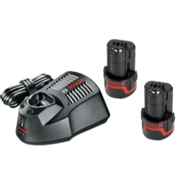 Bosch AL1130 + 2 x 2.0 BLÅ Batteri  click and go