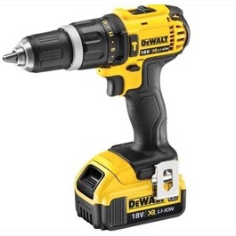 Dewalt  Slagboremaskine 18V DCD785D2  Kit 2.0A Slide IN XR