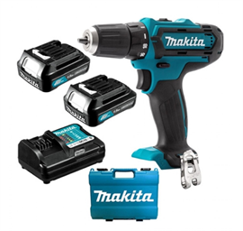 Makita DF331DWAE Li-Ion 10,8V Bore/skruemaskine, 1.5AH kit