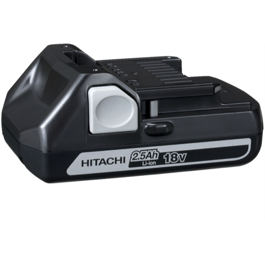 Hitachi batteri   18V  2.5Ah Li-Ion Slide In BSL1825