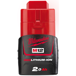 Milwaukee 12V Li-Ion batteri M12 serien 2.0Ah M12B2