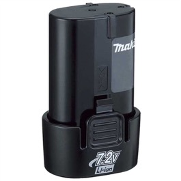 Makita Batteri  7,2V Originalt  1,0 Ah Li-Ion