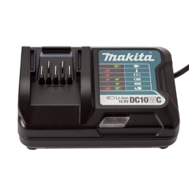 Makita DC10WC lader til 10,8V Slide-in serien