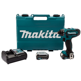 Makita DF031DWAE Li-Ion 10,8V Bore/skruemaskine, 1.5AH kit