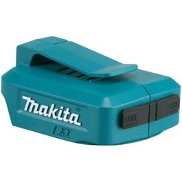 Makita USB powerbank adapter 18V / 14,4V