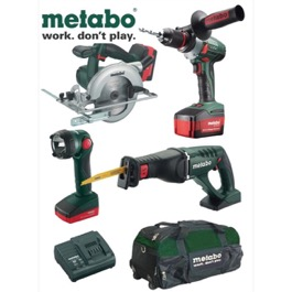 Metabo LTX 18V Li-Ion 4 dels kit