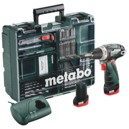 Metabo 10,8V PowerMaxx BS Bore-/Skruemaskine kit