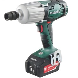 Metabo 18V Slagnøgle SSW18 LTX 600 (slide In) kit 4.0