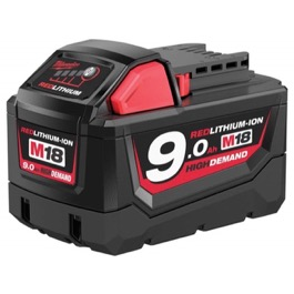 Milwaukee batteri 18v  9.0ah Li-Ion M18 serien M18HB9