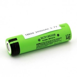 Panasonic celle  Genopladeligt Li-ion batteri 18650 3400mAh